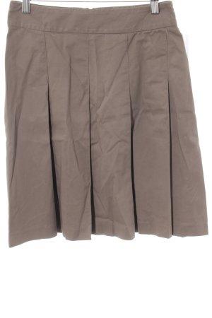 Zara Basic Jupe taille haute marron clair style décontracté