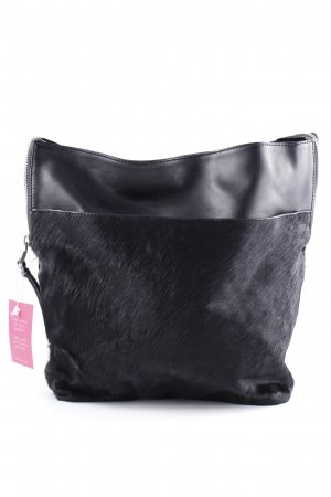 Zara Basic Hobo schwarz Casual-Look