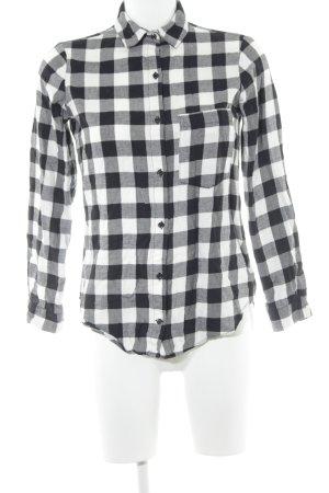 Zara Basic Holzfällerhemd Karomuster Casual-Look