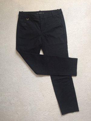 Zara Basic 7/8 Length Trousers black