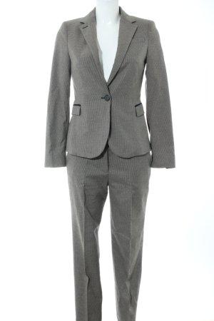 Zara Basic Traje de pantalón gris claro estampado a cuadros estilo «business»