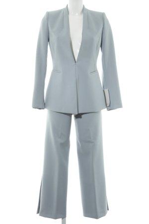 Zara Basic Broekpak lichtblauw Britse uitstraling