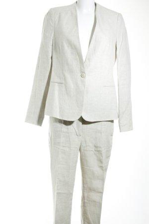 Zara Basic Broekpak licht beige-lichtbruin casual uitstraling