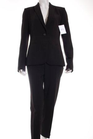 Zara Basic Hosenanzug schwarz Business-Look