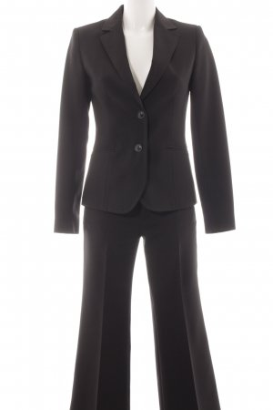 Zara Basic Hosenanzug schwarz Business-Look