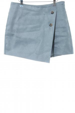 Zara Basic Hosenrock blau Casual-Look