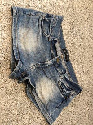 Zara Basic Shorts steel blue