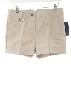 Zara Basic Hot Pants beige Casual-Look