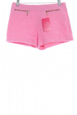 Zara Basic Hot Pants pink Beach-Look