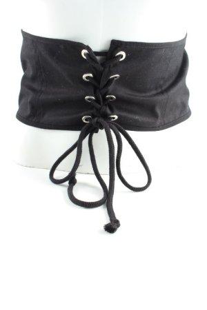 Zara Basic Hip Belt black elegant