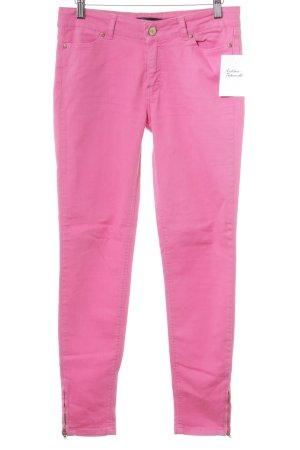 Zara Basic Hüfthose magenta sportlicher Stil