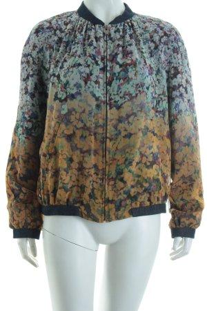 Zara Basic Jacke florales Muster Casual-Look