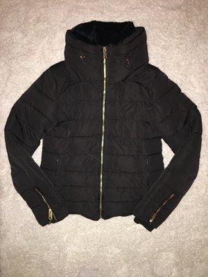 Zara Basic Winterjack zwart