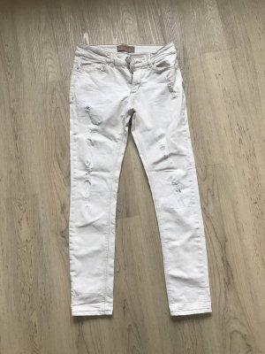 Zara Basic Jeans Creme