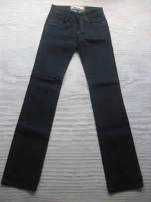 zara basic jeans neu roehre skiny jeans gr xs 34