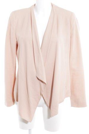 Zara Basic Jerseyblazer apricot Casual-Look