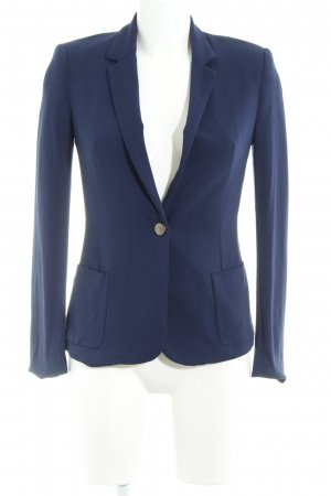 Zara Basic Jerseyblazer blau Marine-Look