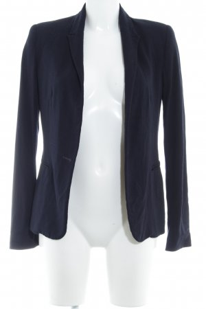 Zara Basic Jerseyblazer dunkelblau Elegant