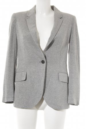 Zara Basic Jerseyblazer grau Business-Look