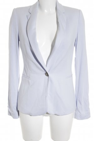 Zara Basic Jerseyblazer himmelblau Business-Look