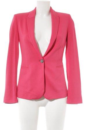 Zara Basic Jerseyblazer magenta Business-Look