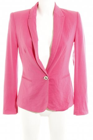 Zara Basic Jerseyblazer magenta Business-Look