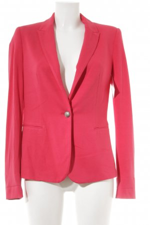 Zara Basic Jerseyblazer neonrot klassischer Stil