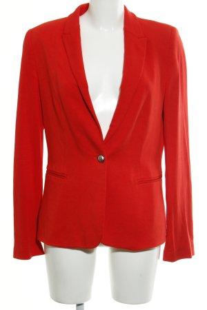 Zara Basic Jerseyblazer rot