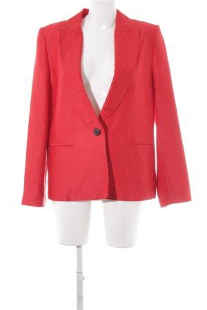 Zara Basic Jerseyblazer rot Business-Look