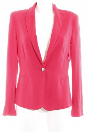 Zara Basic Jerseyblazer rot Business-Look