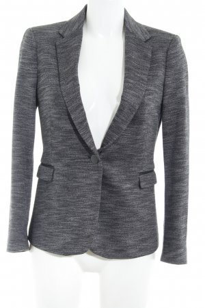 Zara Basic Jerseyblazer schwarz-grau Business-Look