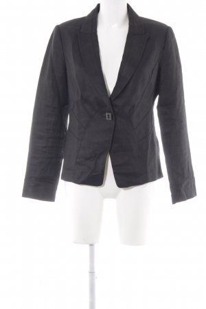 Zara Basic Jerseyblazer taupe Business-Look