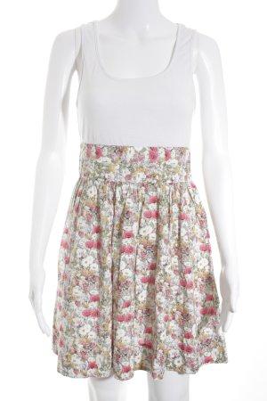 Zara Basic Jerseykleid Blumenmuster Romantik-Look
