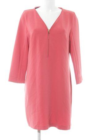 Zara Basic Jerseykleid lachs Casual-Look