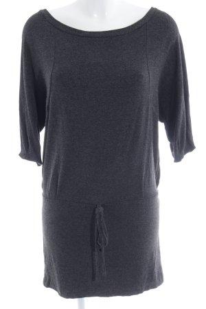 Zara Basic Jerseykleid taupe Casual-Look