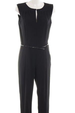 Zara Basic Jumpsuit zwart zakelijke stijl