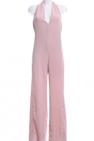 Zara Basic Jumpsuit pink Casual-Look