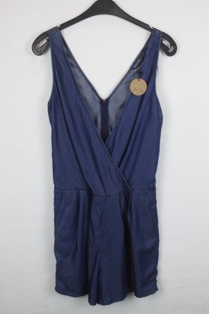Zara Basic Jumpsuit Gr. XS denimblau (18/4/321)