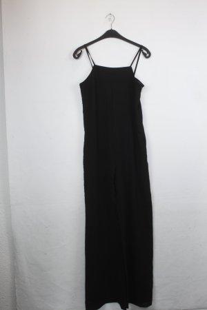 Zara Basic Jumpsuit Gr. XS schwarz, Schulterfrei (18/4/440)