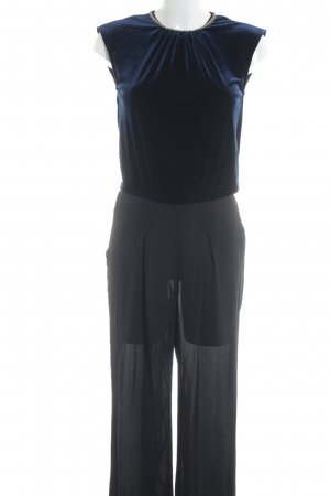 on sale 8381b 5df9b Zara Basic Jumpsuit black-dark blue elegant