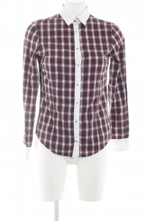 Zara Basic Checked Blouse check pattern casual look