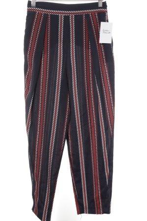 Zara Basic Pantalone peg-top motivo a righe elegante