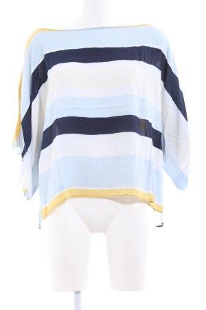 Zara Basic Kimono-Bluse Streifenmuster Casual-Look