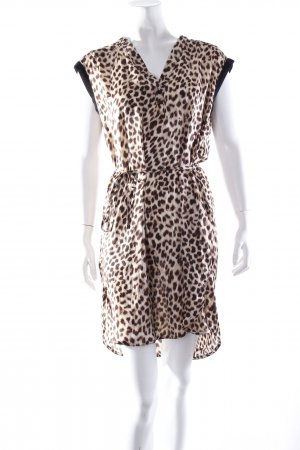 Zara Basic Kleid Animalprint