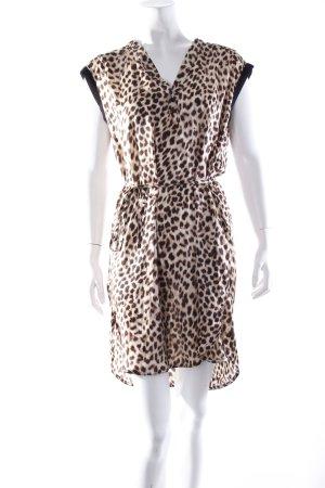 Zara Basic Kleid Animalprint
