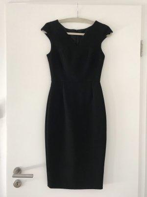 Zara Basic - Kleid Etuikleid Abendkleid - schwarz - Gr. XS