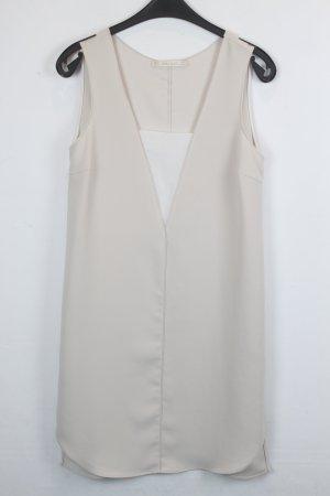 Zara Basic Kleid Gr. S beige/creme  (18/5/016)