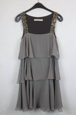 Zara Basic Robe à paillettes multicolore polyester