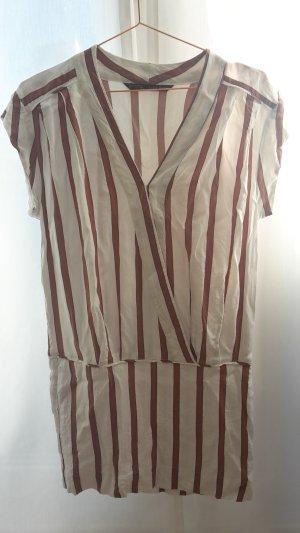 ZARA Basic Kleid Streifen M