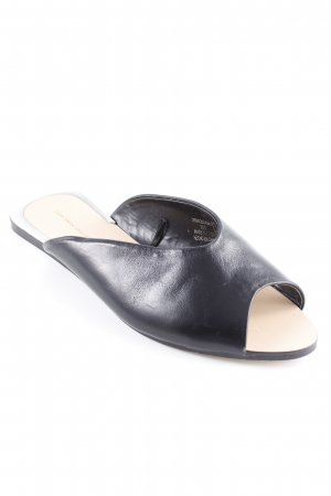 Zara Basic Comfort Sandals black elegant
